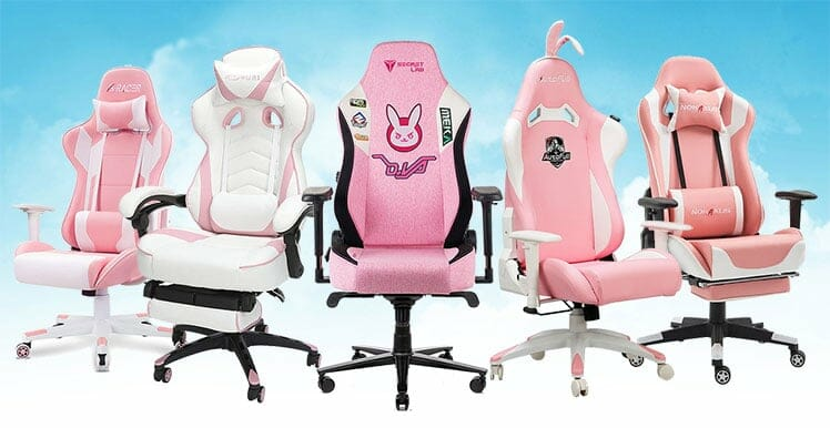 Pink gaming chair advice