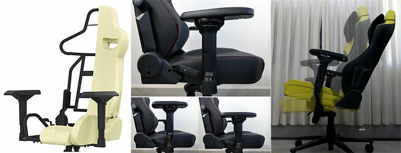 Pro esports chair features