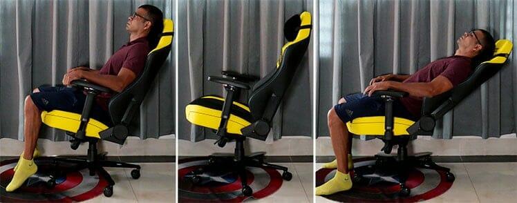 Titan seat bucket adjustment functionality