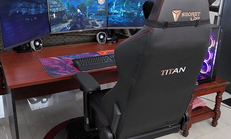 Secretlab Titan Stealth chair review