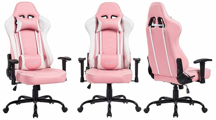Von Racer Addax pink gaming chair