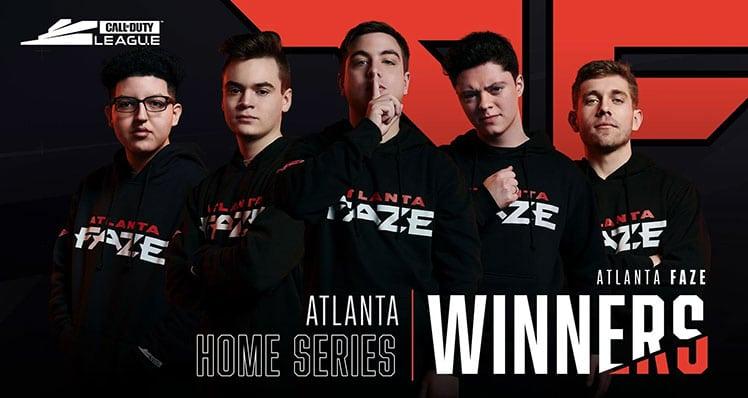 Atlanta Faze pro esports team