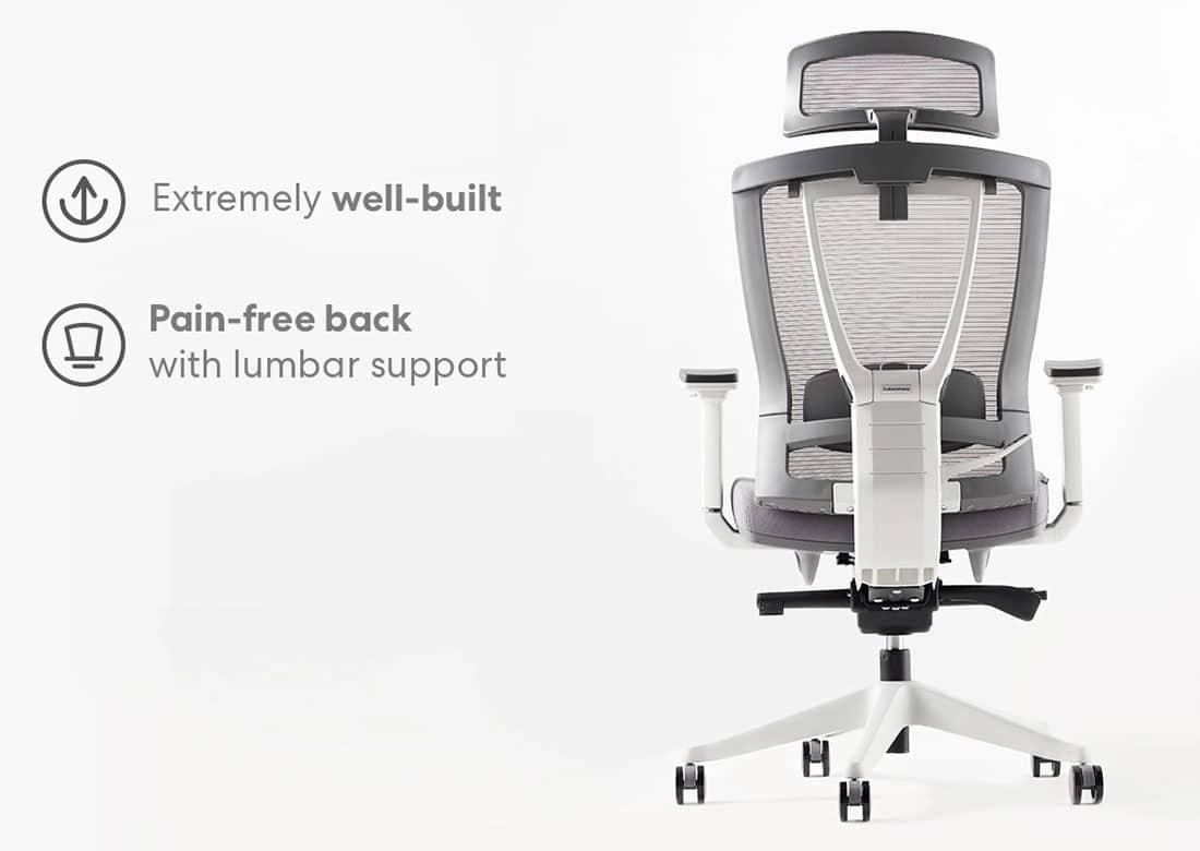 Autonomous chair backrest