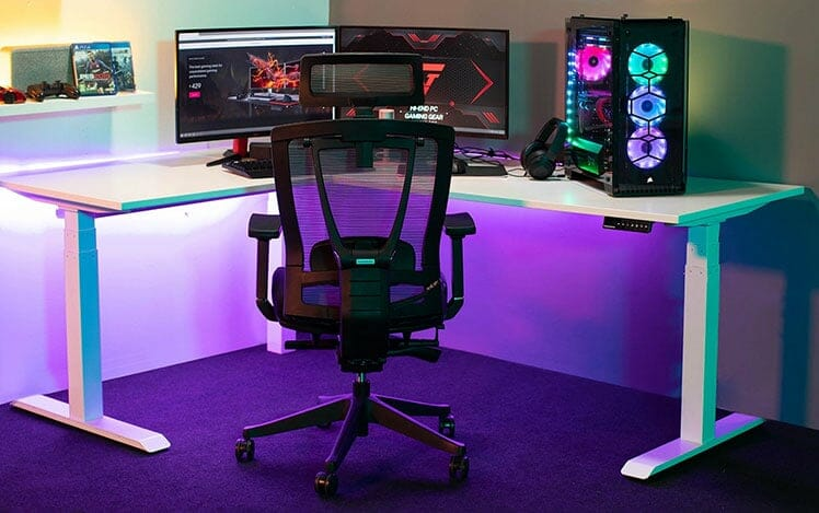 ErgoChair Pro PC gaming station chair