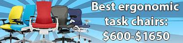 Best high-end ergonomic task chairs