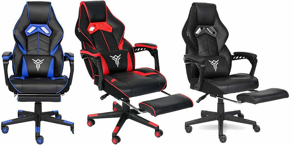 Elecwish 2020 Series footrest gaming chairs
