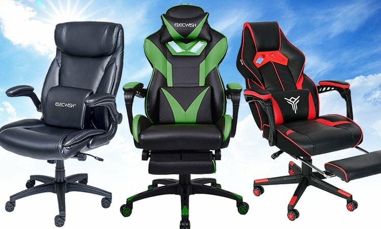 Elecwish 2021 gaming chair collection