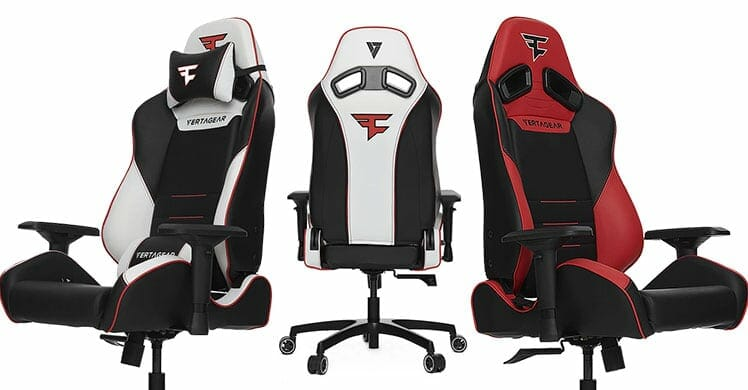 FaZe Retro gaming chairs come in two colors