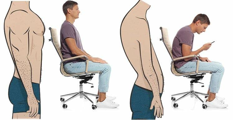 Poor posture health problems