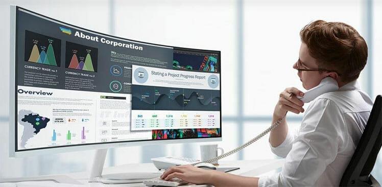 Samsung Odyssey G9 ultra-wide monitor