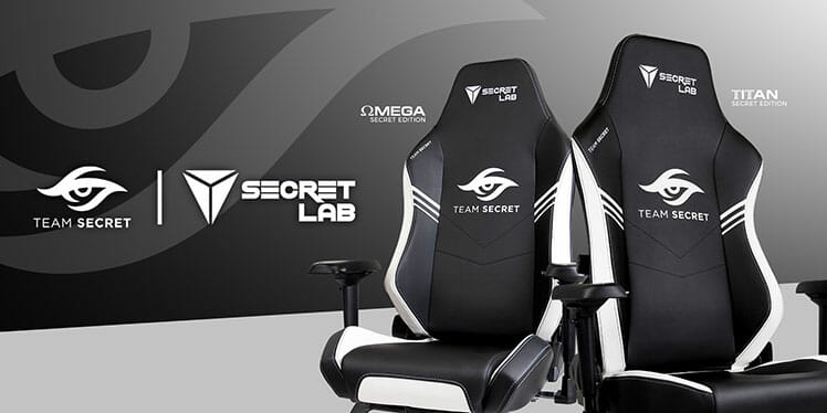 Official Team Secret gaming chairs