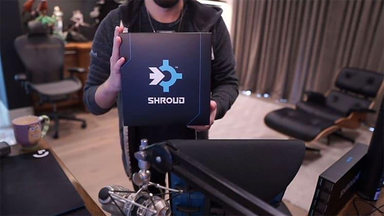 Shround 2021 streaming setup with Logitech