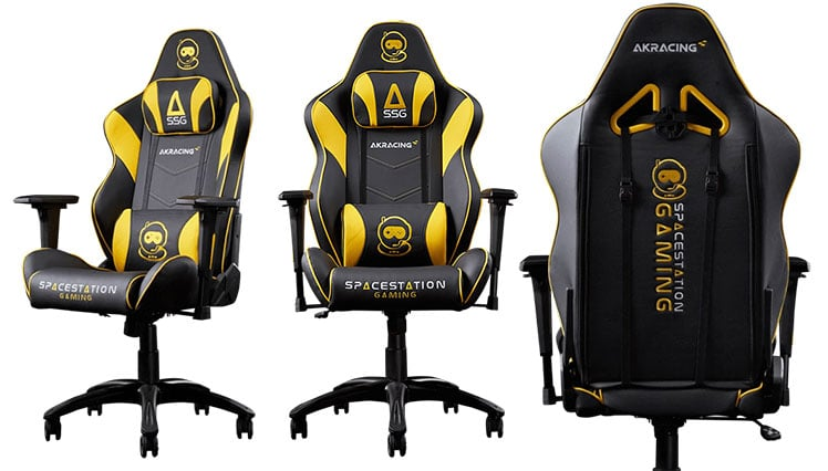 Spacestation Gaming official team chair