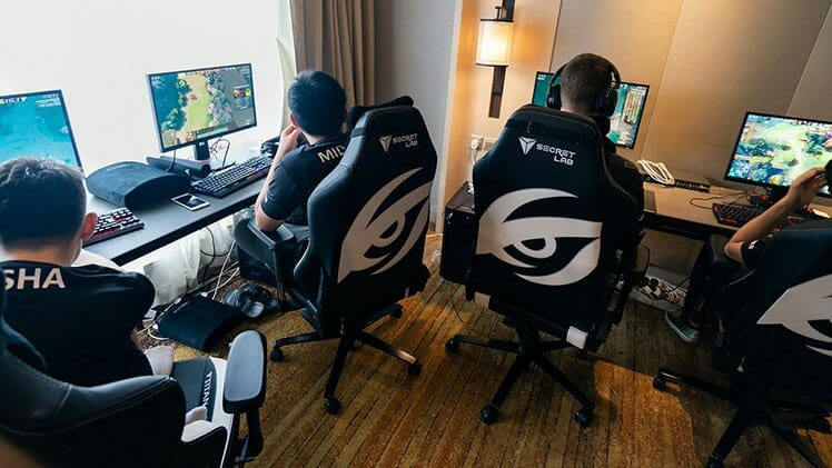 Team Secret gaming chairs
