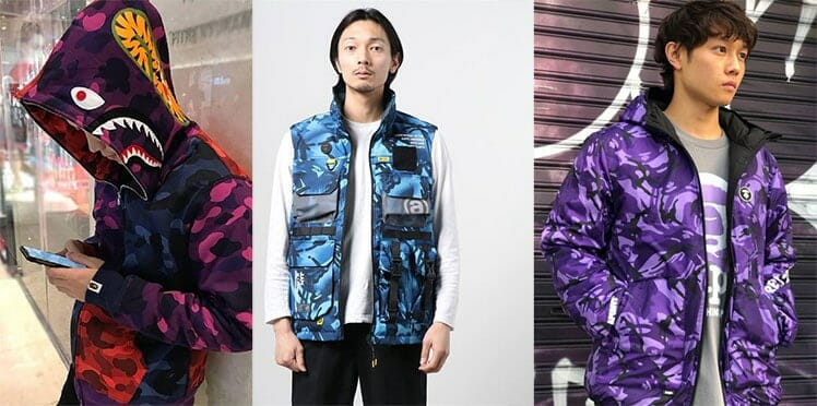 AAPE clothing line
