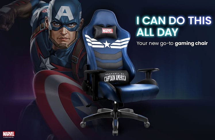Captain AMerica cheap gaming chair under $200