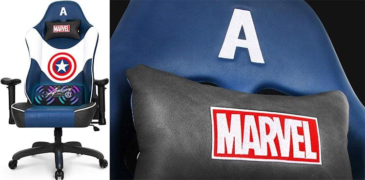 Captain America RAP Series gaming chair