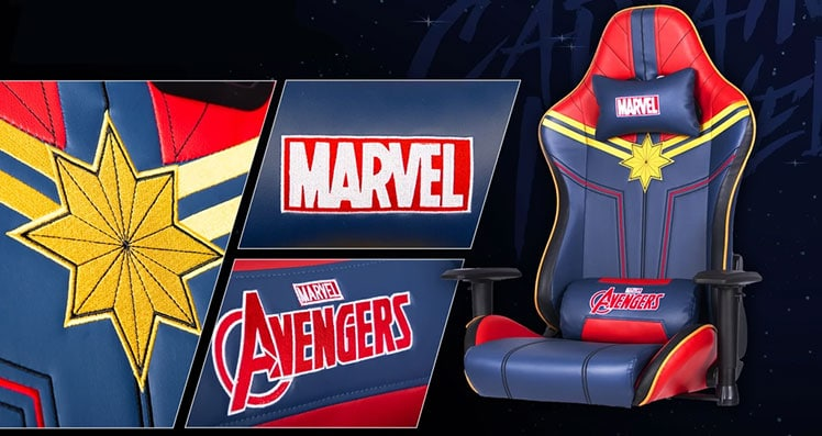Captain Marvel ARC Series gaming chair