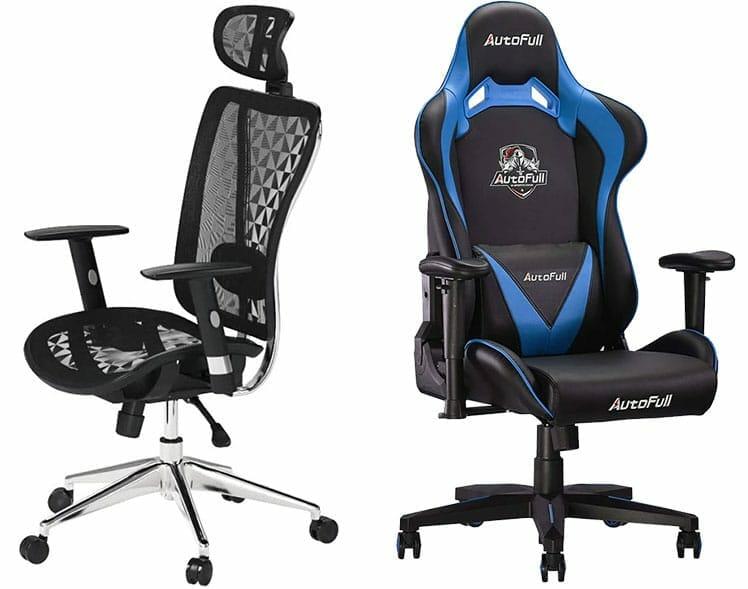 Cedric vs Sword ergonomic chairs