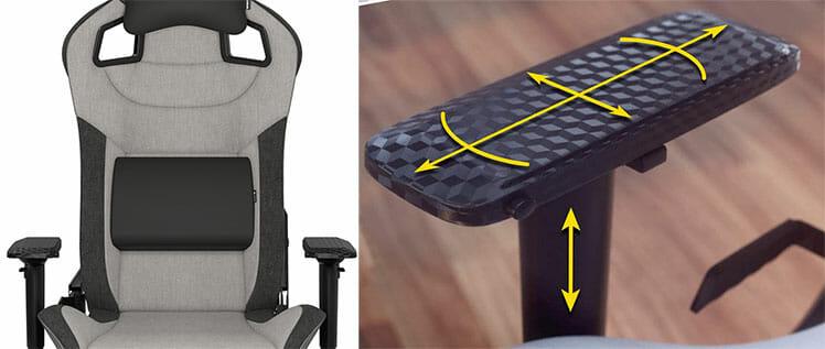 Corsair gaming chair features