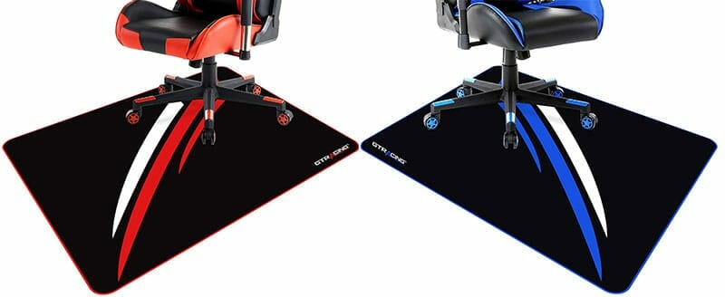 GTRacing gaming chair floor mats