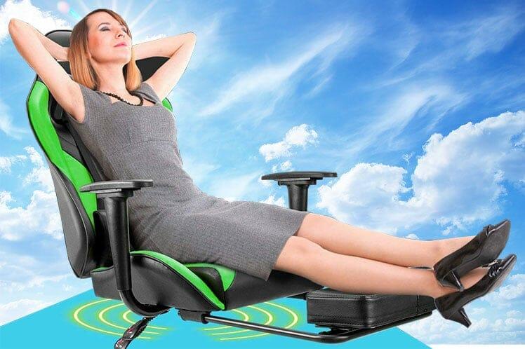 Footrest gaming recliner