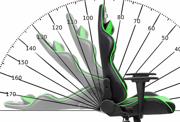 Homall gaming chair deep recline