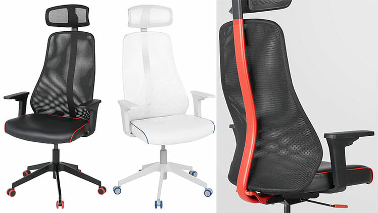 IKEA Matchspel gaming chair color options