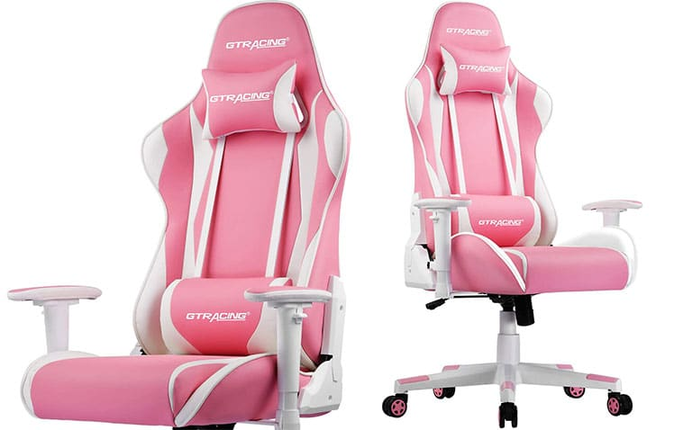 GTRacing Pro Series Pink gaming chair