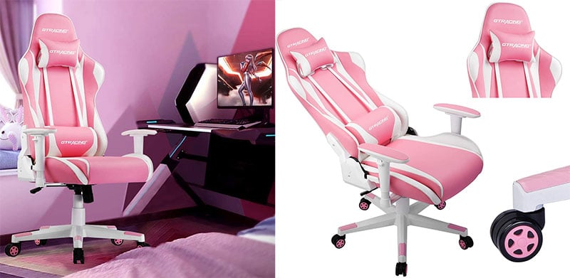 GTRacing Pink gaming chair