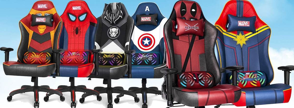 Marvel RAP Series XL gaming chairs