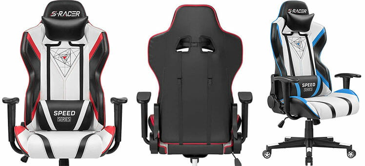 S-Racer light colored chairs