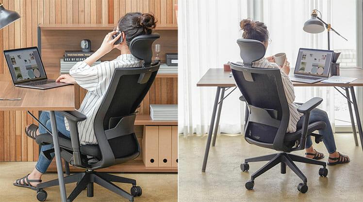 Sidiz T50 ergonomic office chair workstation setups