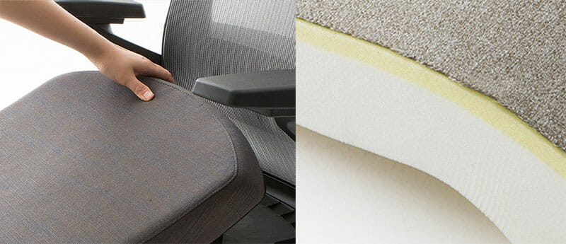 Sidiz T80 seat cover and padding