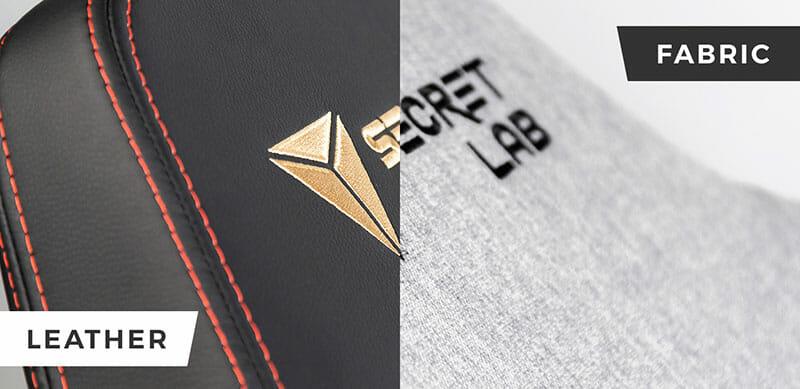 Secretlab leather versus fabric