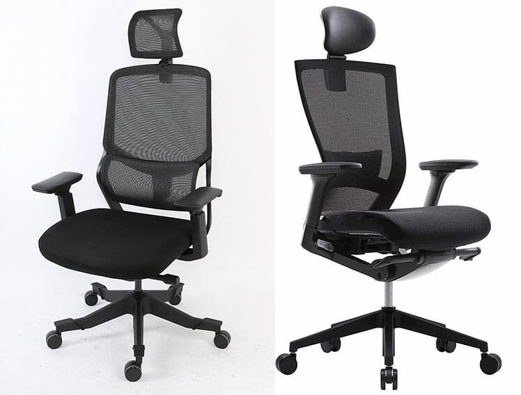 Soutien vs Sidiz T50 office chair comparison