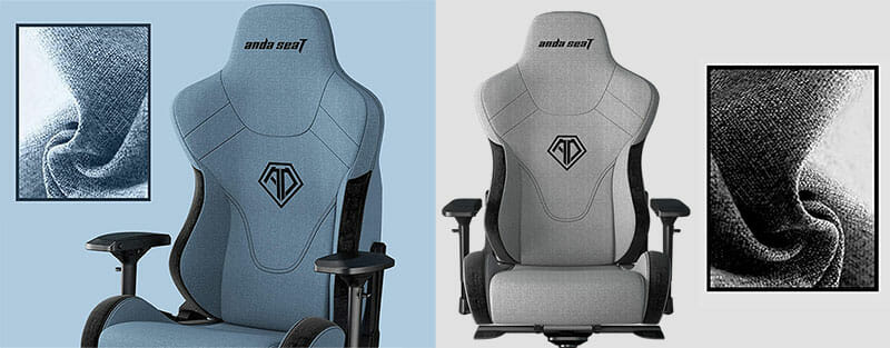 T-Pro Series 2 fabric gaming chairs