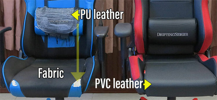 Gaming chair cover materials compared