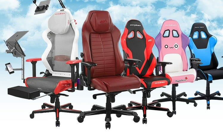 New DXRacer gaming chairs