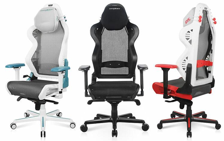 DXRacer Air ergonomic chairs