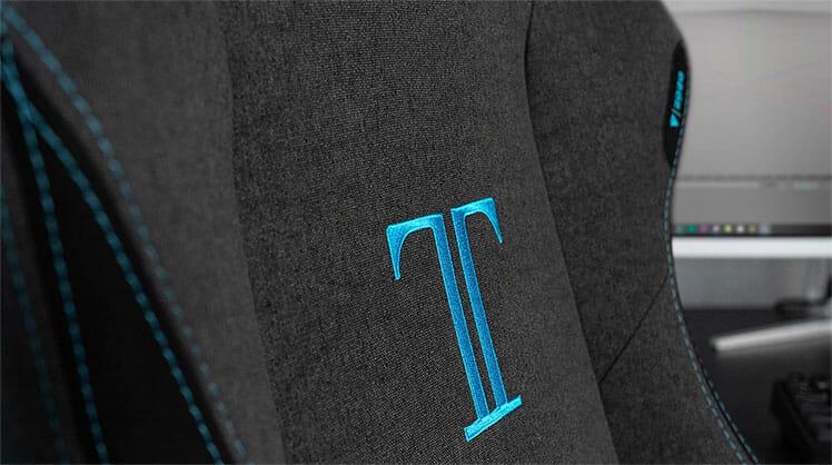 Secretlab Charcoal Blue ergonomic chair