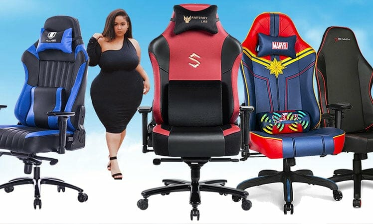 Best cheap gaming chairs with wide seats
