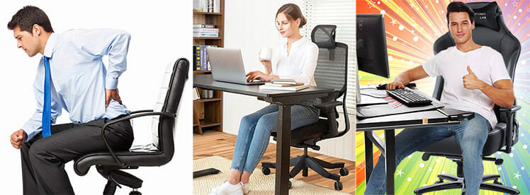 Cheap ergonomic chair advantage