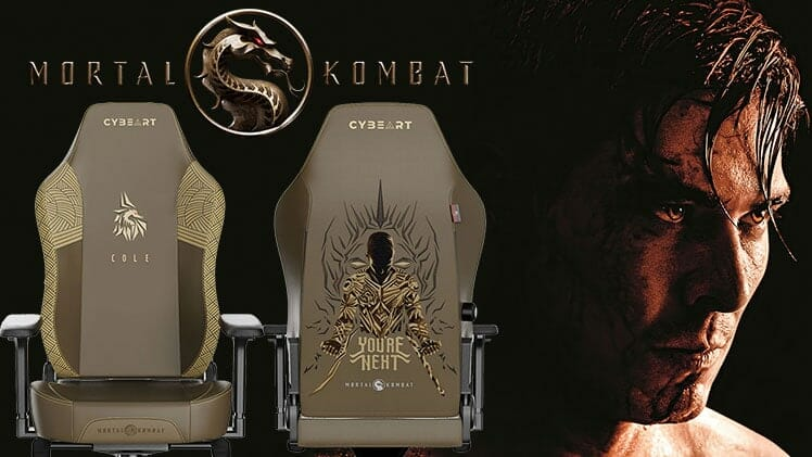 Mortal Kombat Cole Young licensed gaming chair