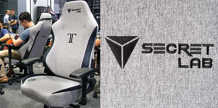 Cookies and Cream mesh fabric gaming chair