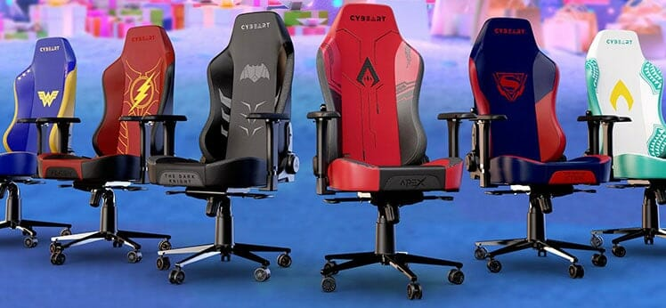 Cybeart Apex Series gaming chairs
