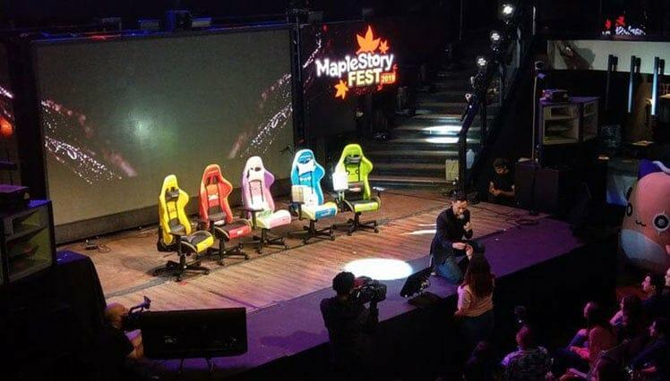 DXRacer at Maple Story Fest 2019