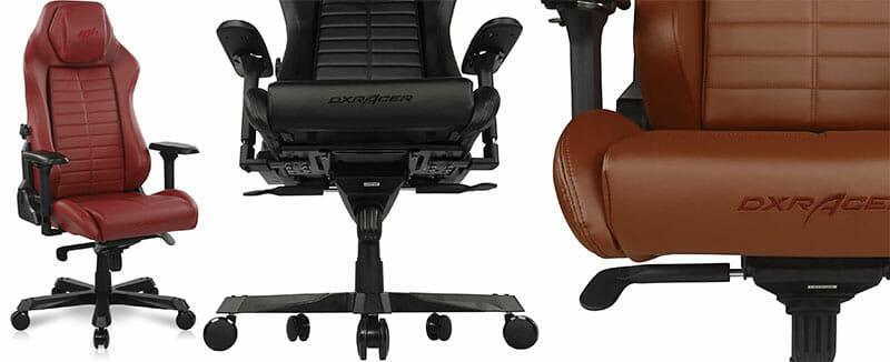 DXRacer Master Series chair colors
