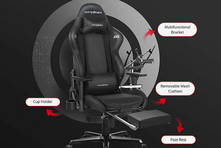 Module addons for G-Series gaming chairs