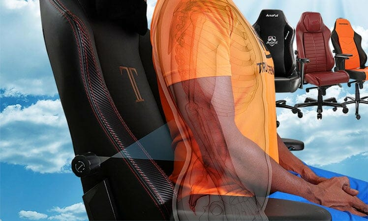 Best gaming chairs with internal lumbar support systems review
